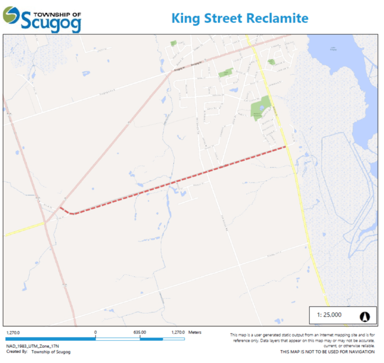 Notice of Construction – King Street Pavement Preservation