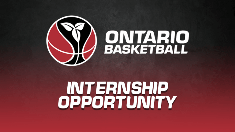 Now accepting applications for Winter 2022 student internships! • Ontario Basketball Association
