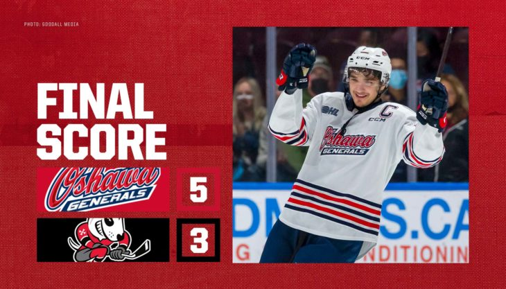 Generals even season series with IceDogs
