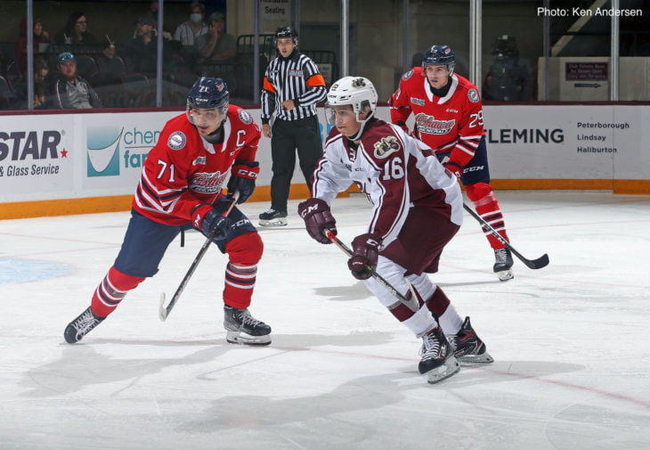 Generals win streak ends with loss to Petes